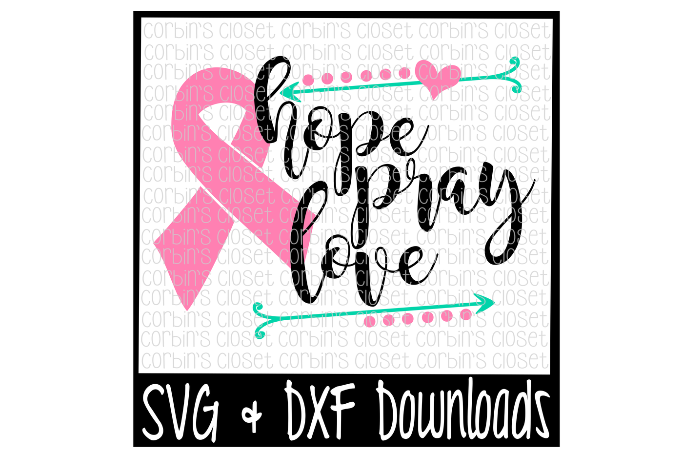 Hope clipart svg. Cancer awareness pray love