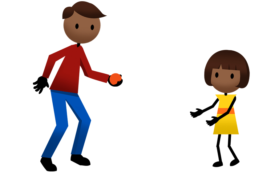 Activities active for life. Movement clipart physical play
