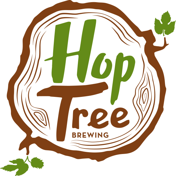 Hop tree brewing great. Hops clipart beer logo