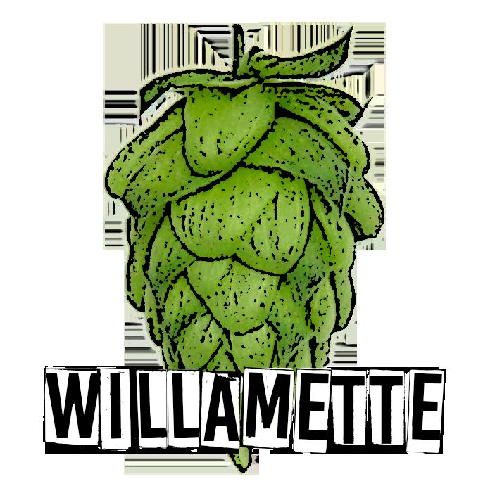 Willamette dark farm home. Hops clipart hop plant
