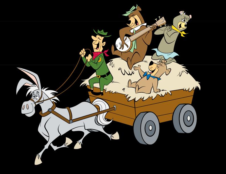 Hops clipart potato sack race. Yogi bear s jellystone