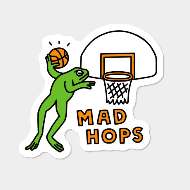 Hops clipart team game. Mad sticker by obinsun