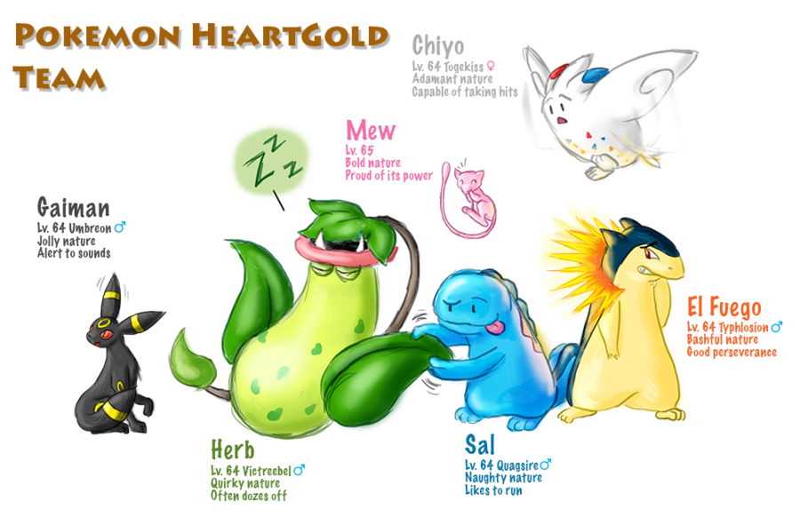 Pokemon heartgold by beckhop. Hops clipart team game