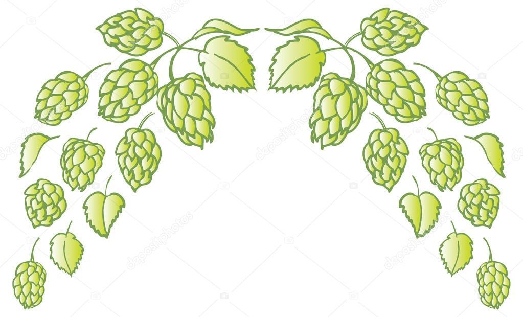Hops clipart vine. Portal