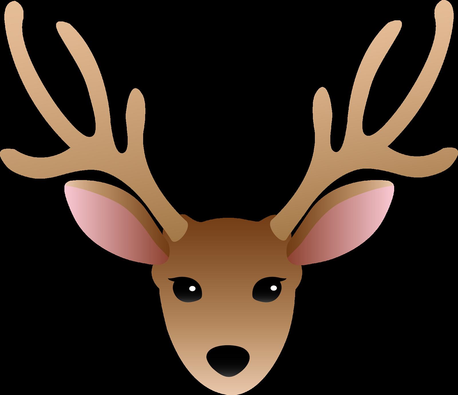 Horn clipart antler. Cuttlebug mania o deer