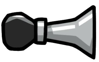 Bicycle scribblenauts wiki fandom. Horn clipart bike horn
