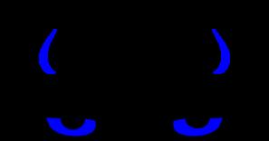Horn clipart blue devil. Clip art at clker