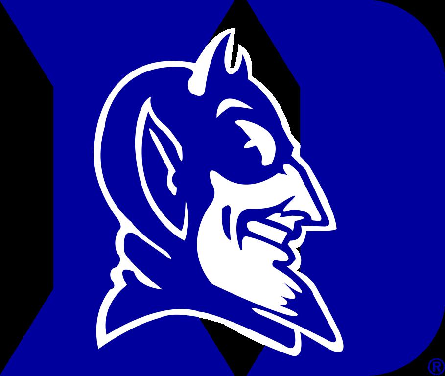 Horn clipart blue devil. Devils logos