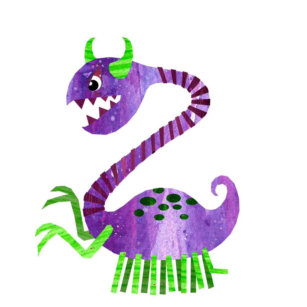 Horn clipart crazy hat. Monster z from alphabet