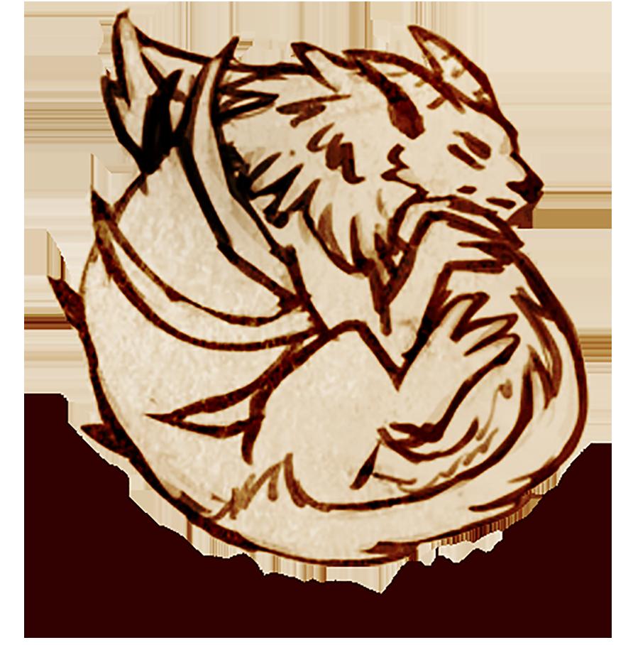 Thunder horns art . Horn clipart desert