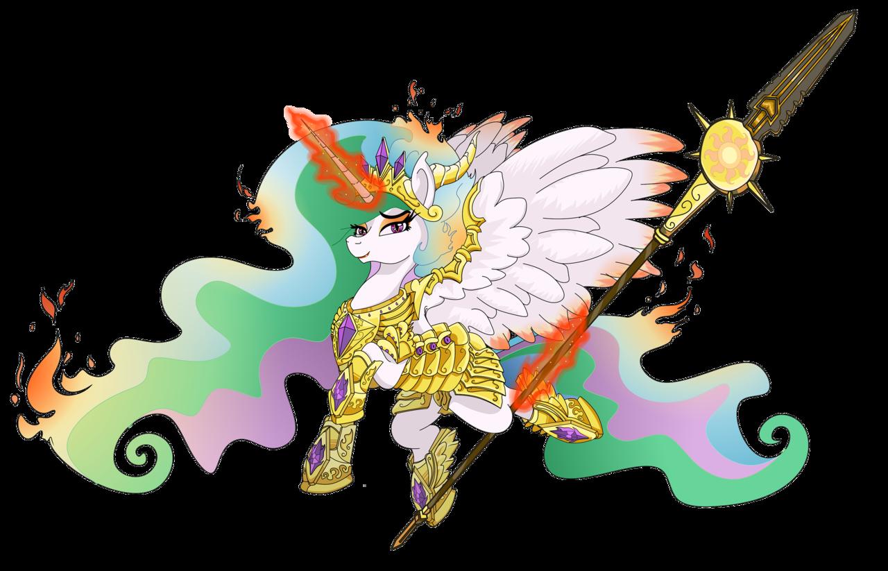 alicorn armor artist. Horn clipart desert