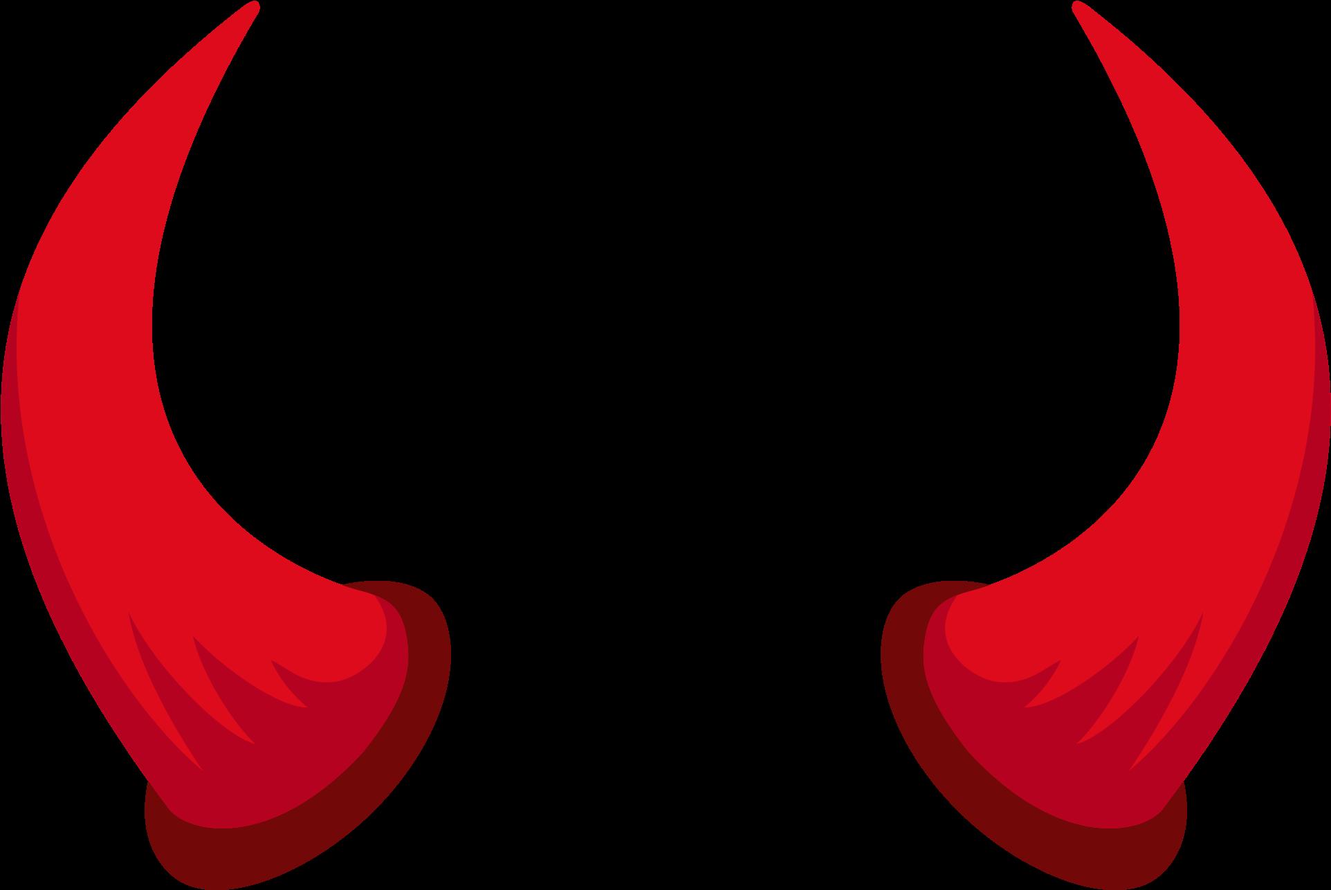 Jpg library download huge. Horn clipart devil