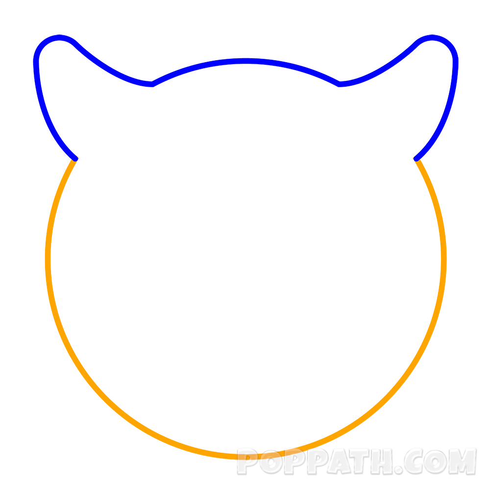 Horn clipart devilish. How to draw a