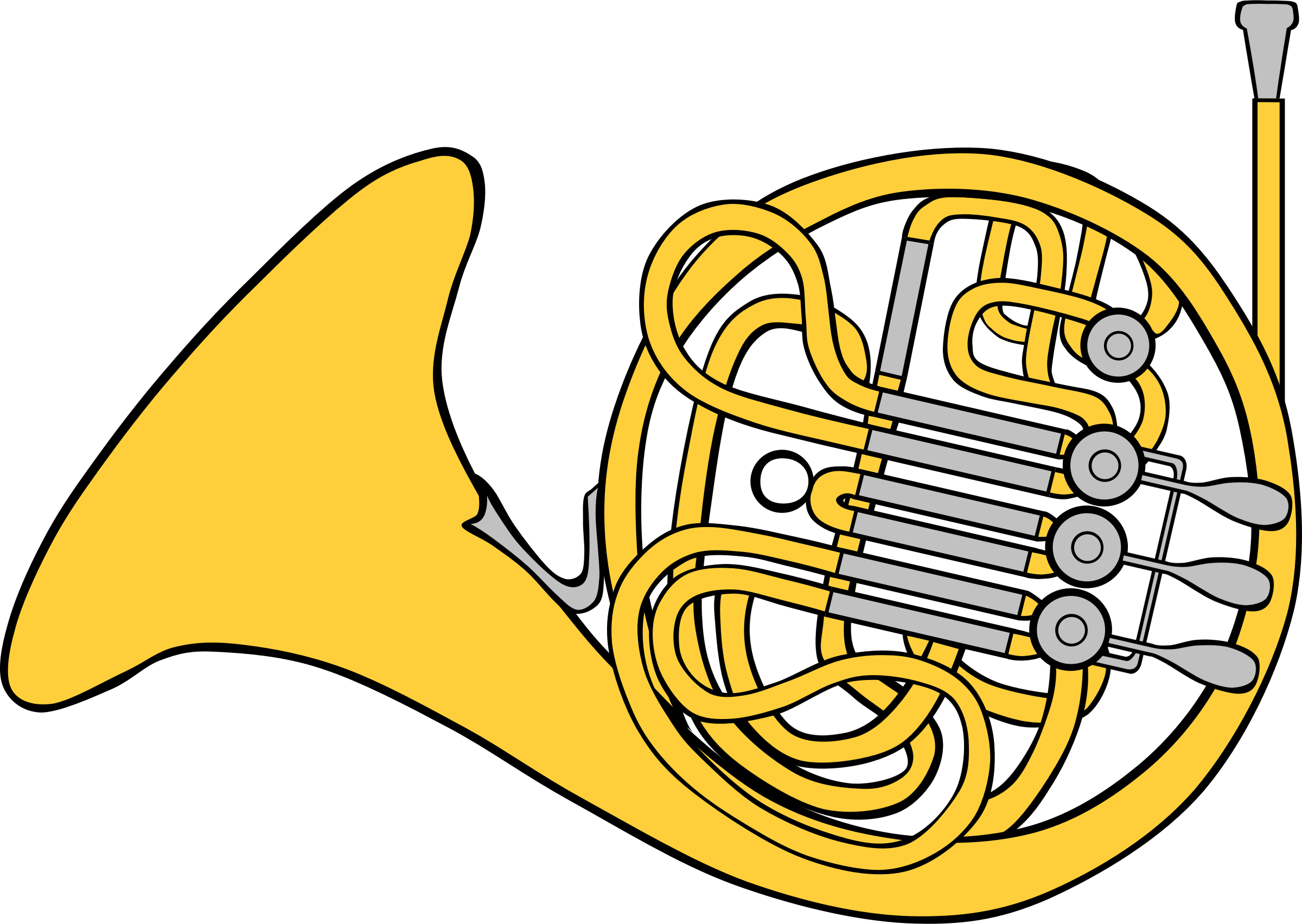 Shell clipart horn.  collection of high
