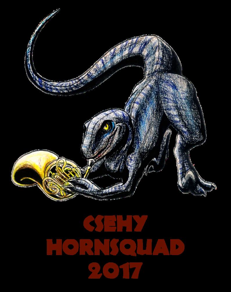Csehy squad by geo. Horn clipart dragon