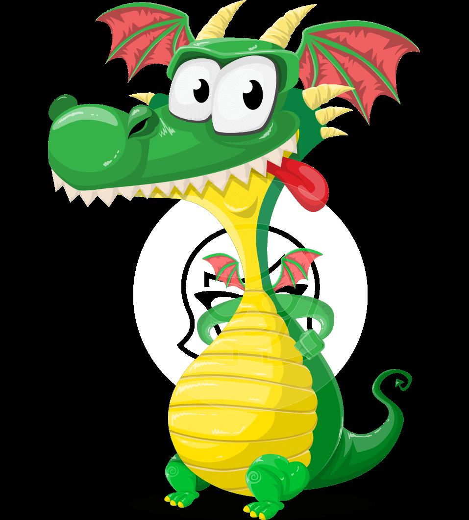 Spiky as cute mighty. Horn clipart dragon