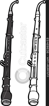 Instrument stock vector . Horn clipart english horn