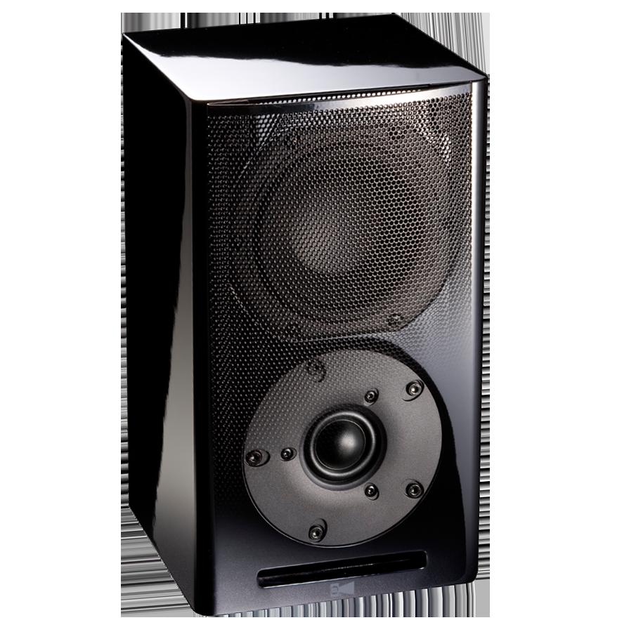 Horn clipart hand speaker. Rsl cg bookshelf speakers