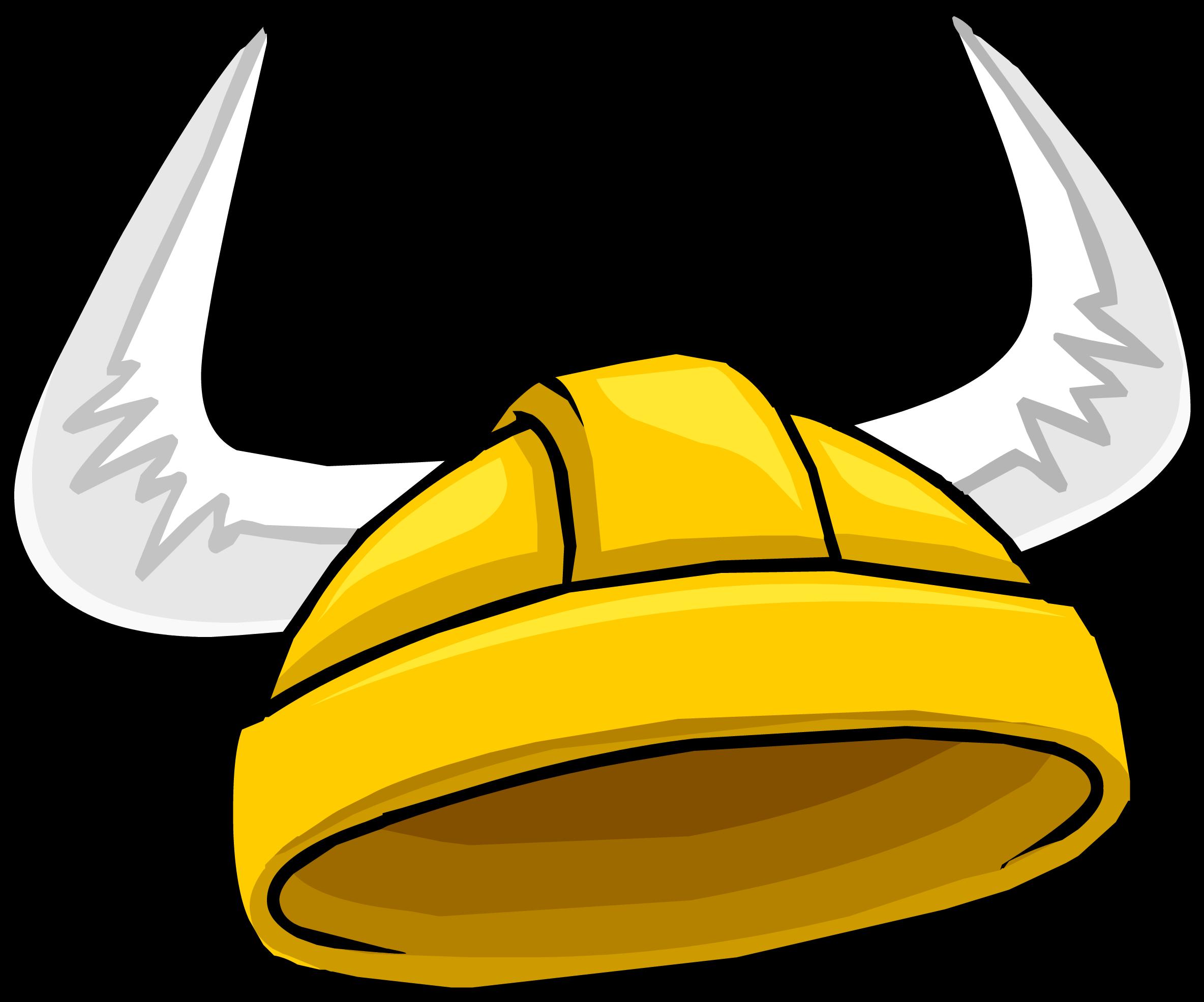 Warrior clipart viking. Gold helmet puffle hat