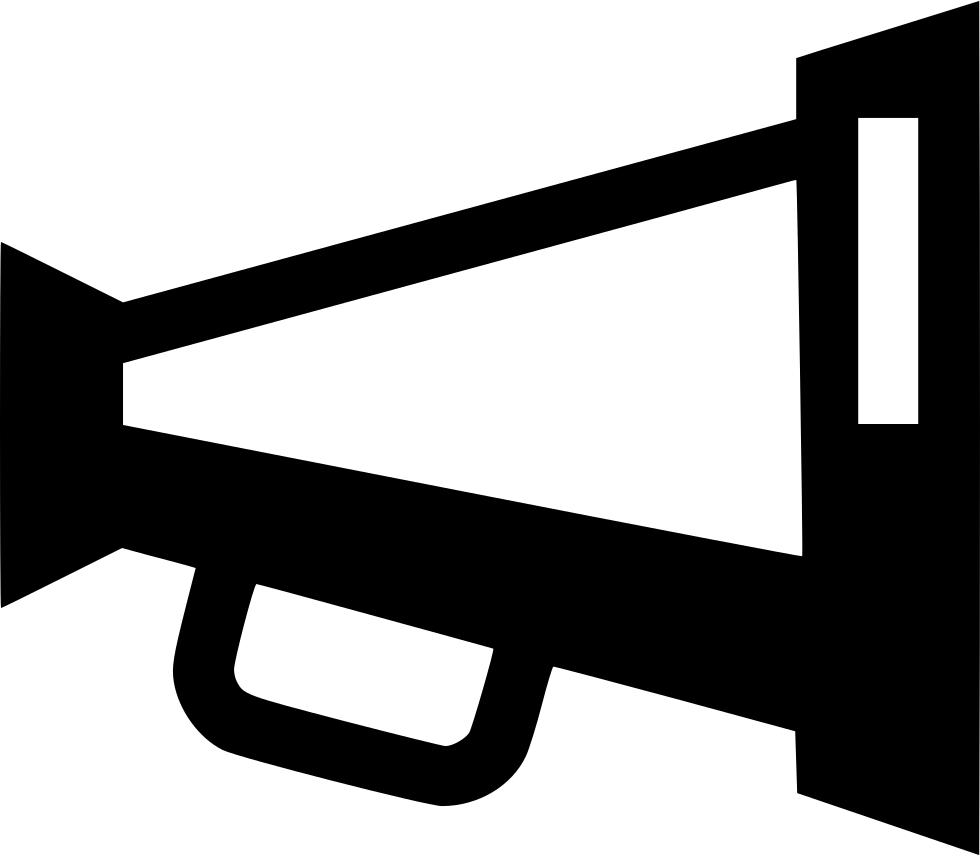 Horn clipart horn speaker. Advertisement advertising announcement loudspeaker