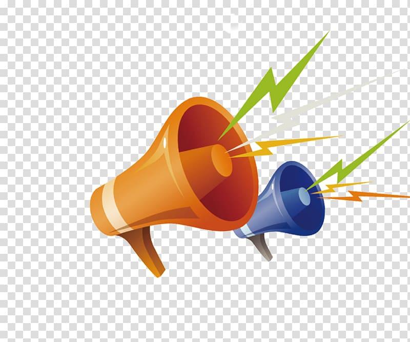 Loudspeaker icon transparent background. Horn clipart horn speaker