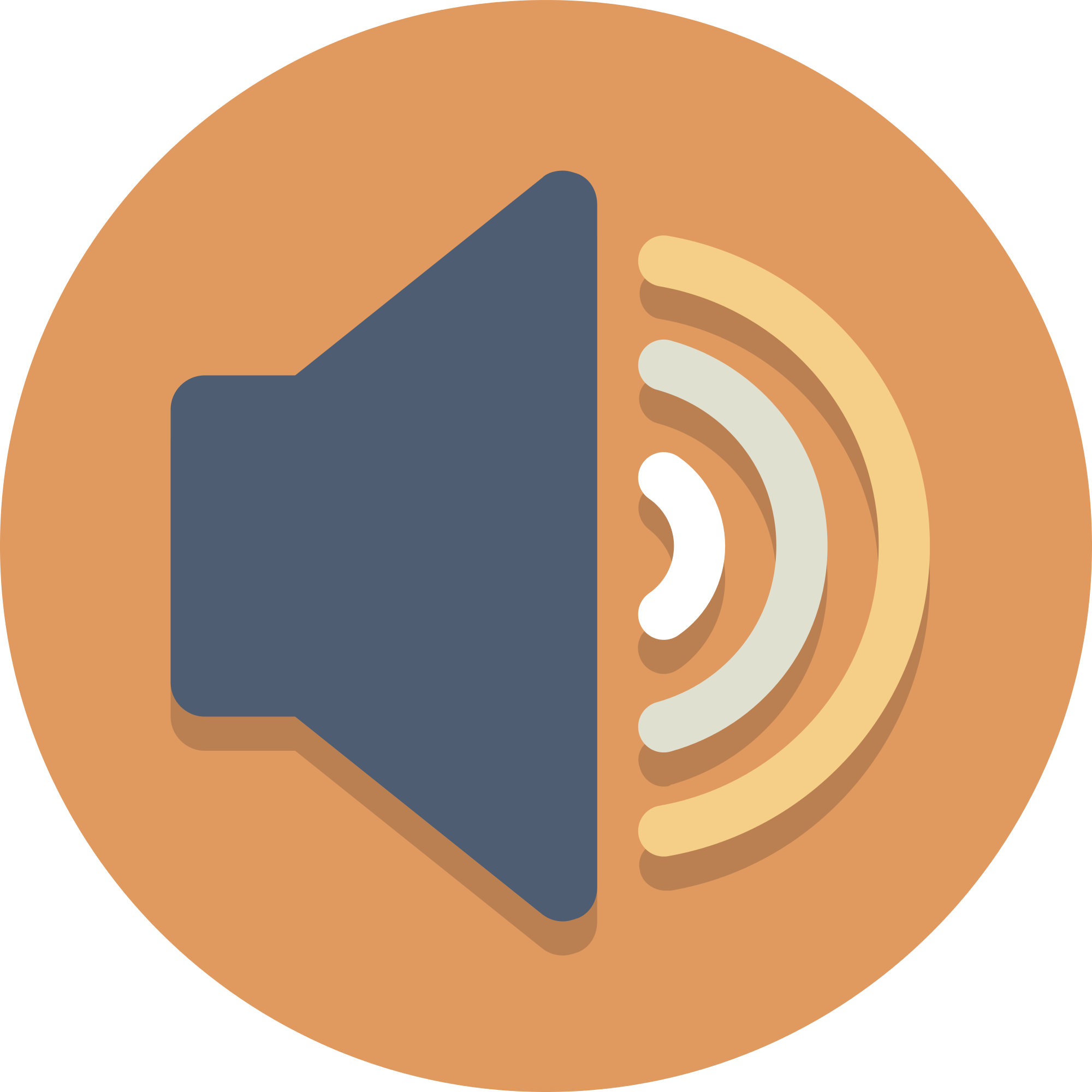 Speaker icon png. File circle icons svg