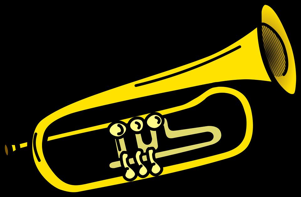 horn clipart instruments
