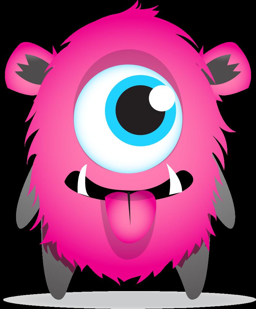 Net red eyes wpdevil. Horn clipart monster