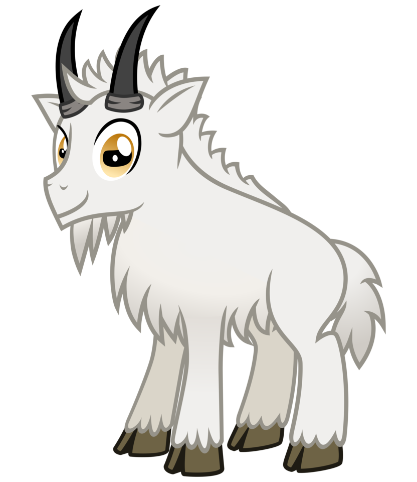 Horn clipart mother goat. Goaty mcgoatface by cheezedoodle