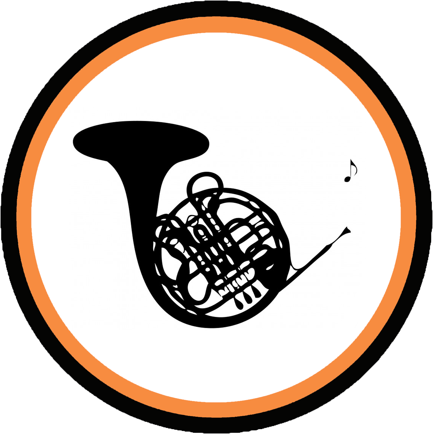 Horn clipart musical intrument. Repairs prince music company