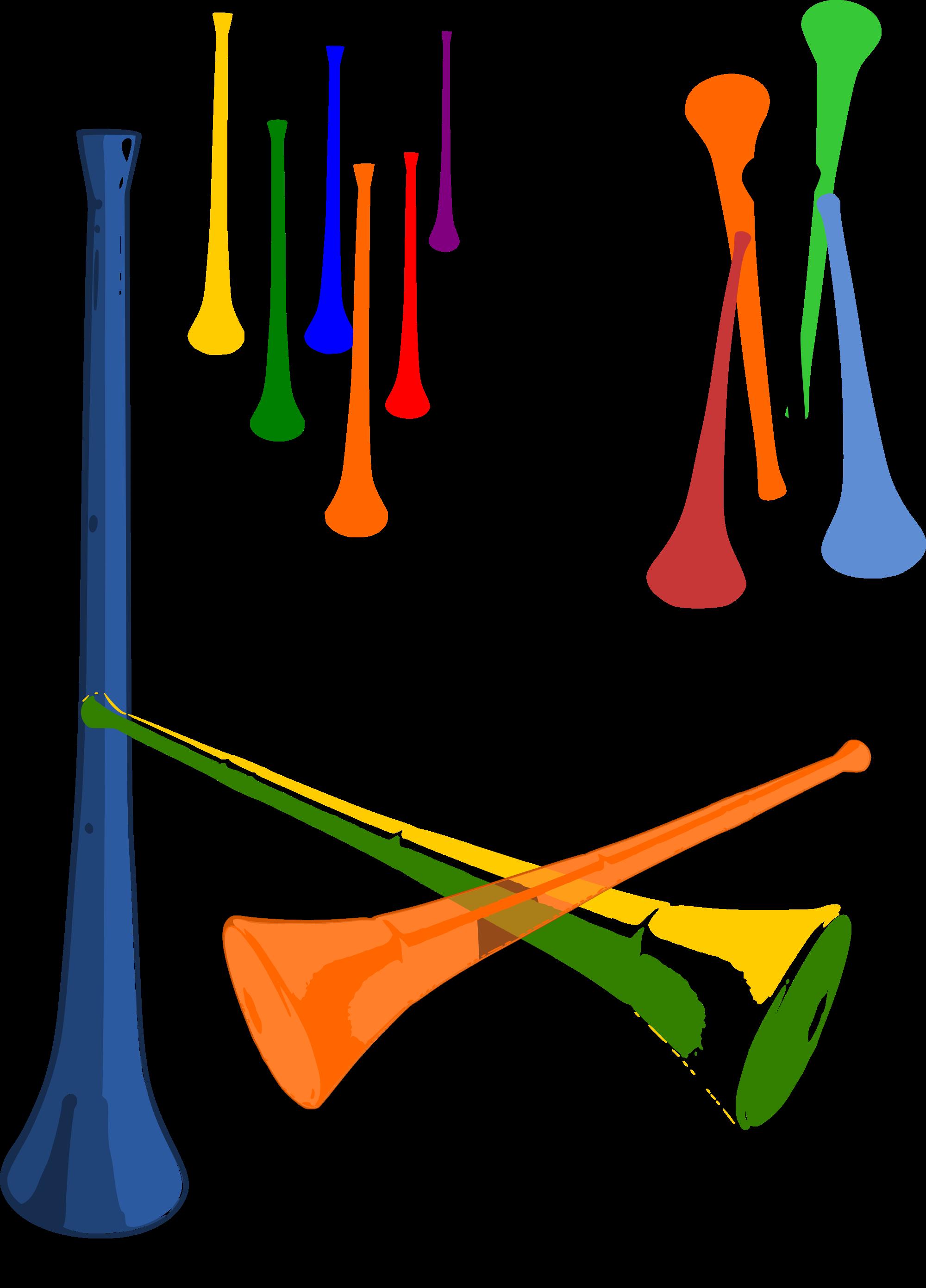 Horn clipart musical intrument. File vuvuzelas svg wikimedia