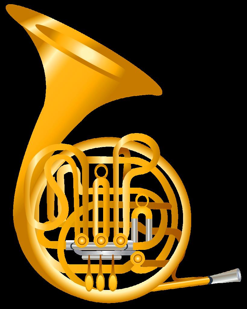 png album music. Horn clipart musical intrument