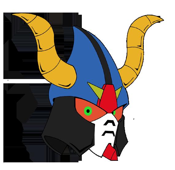 Satan gundam by combatkaiser. Horn clipart satanic