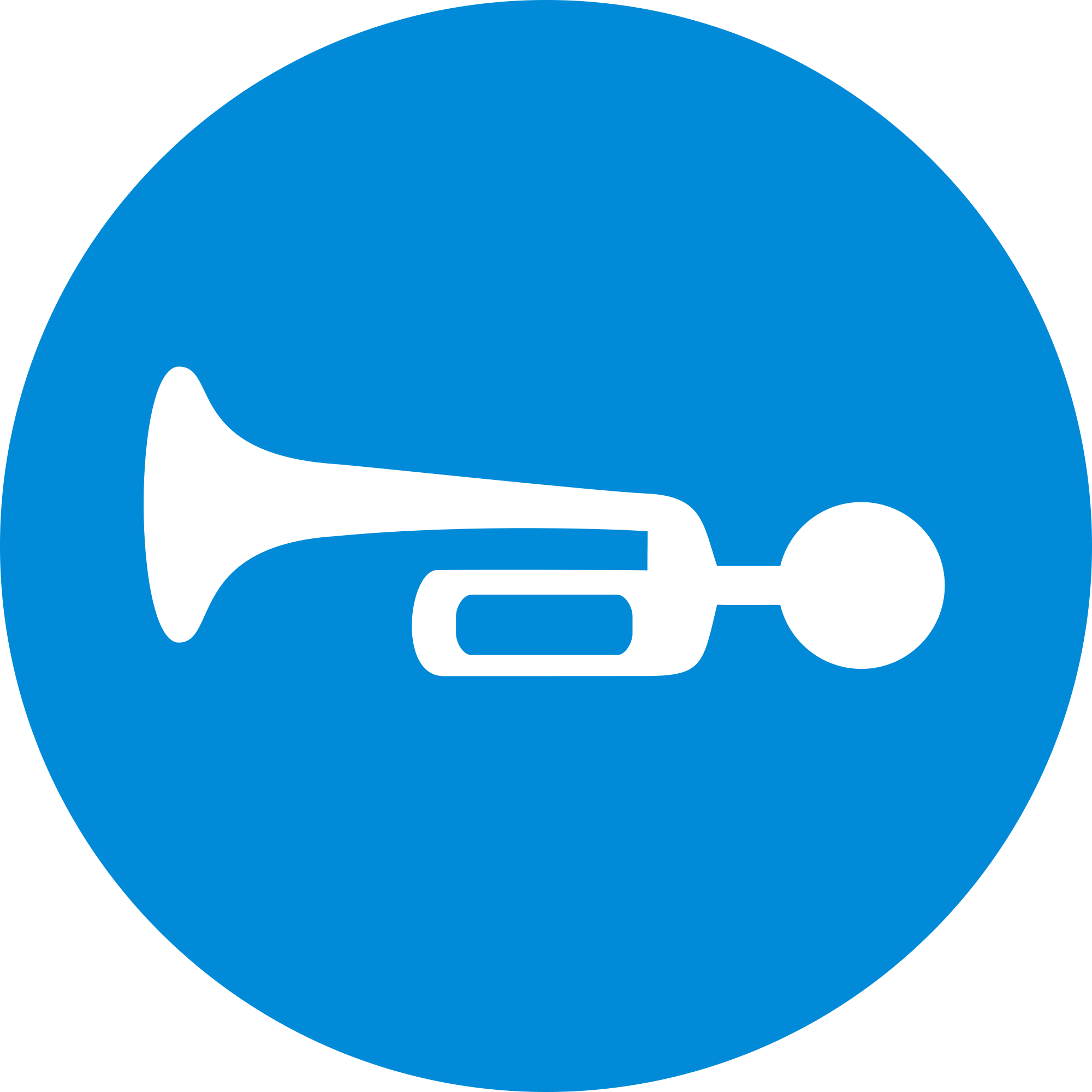File compulsory sound sign. Horn clipart svg