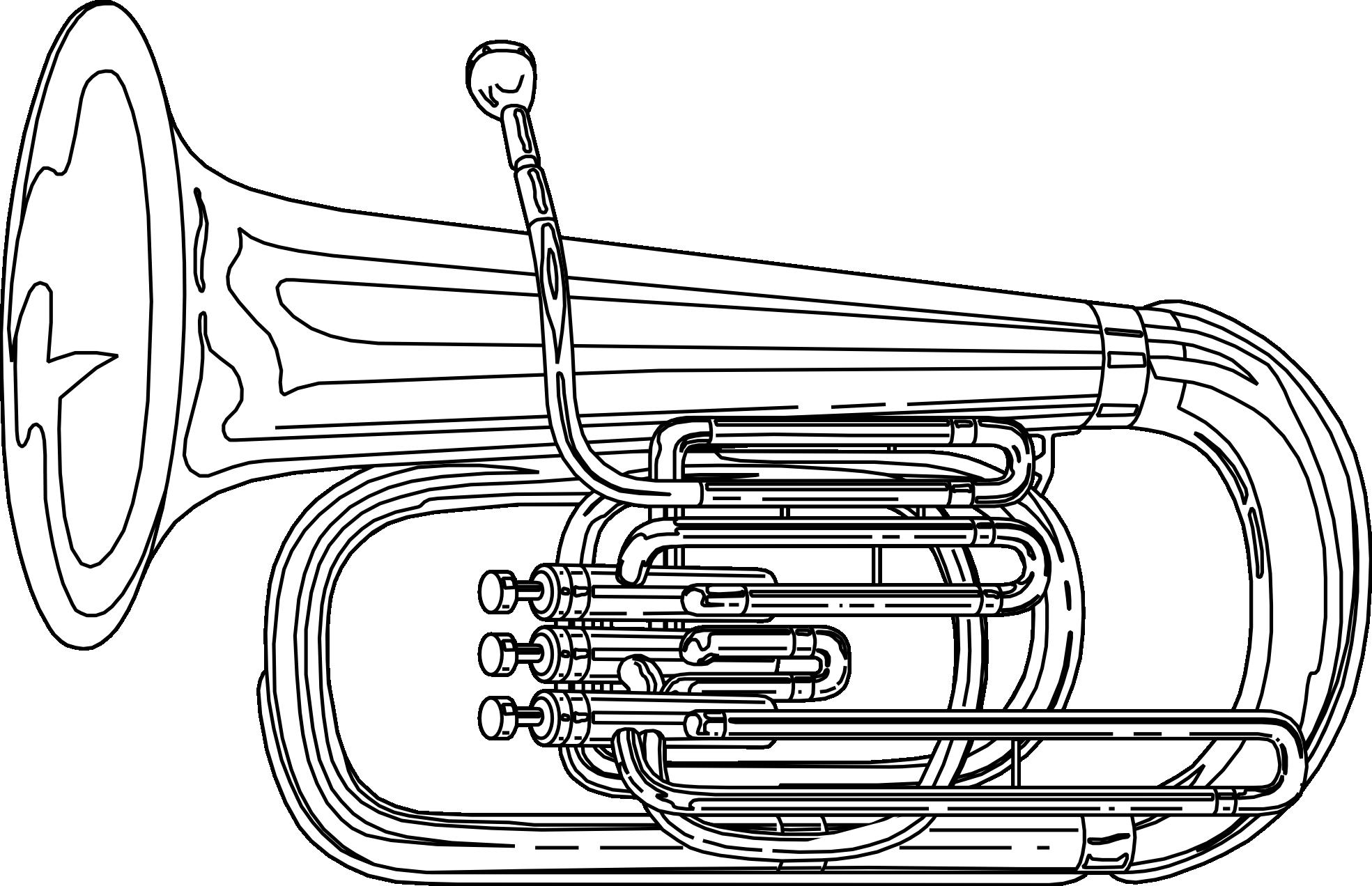 Vector google zoeken typography. Horn clipart tuba