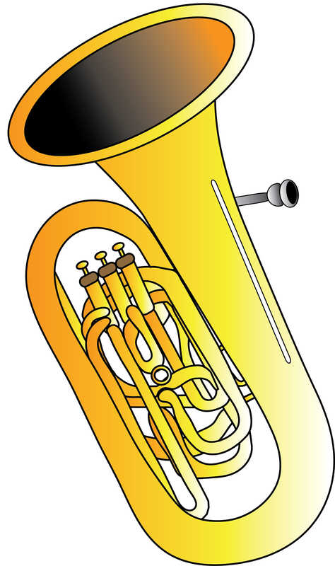 Resources gallery string family. Instruments clipart tuba