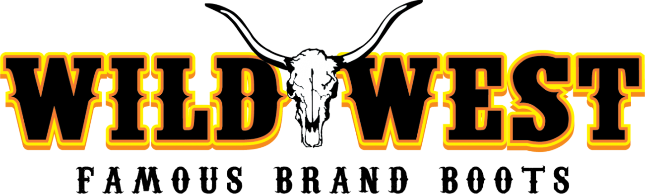 Wild west boot store. Longhorn clipart western