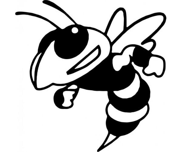 Hornet clipart. Clipartblack com