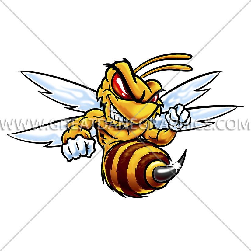 insect clipart hornet
