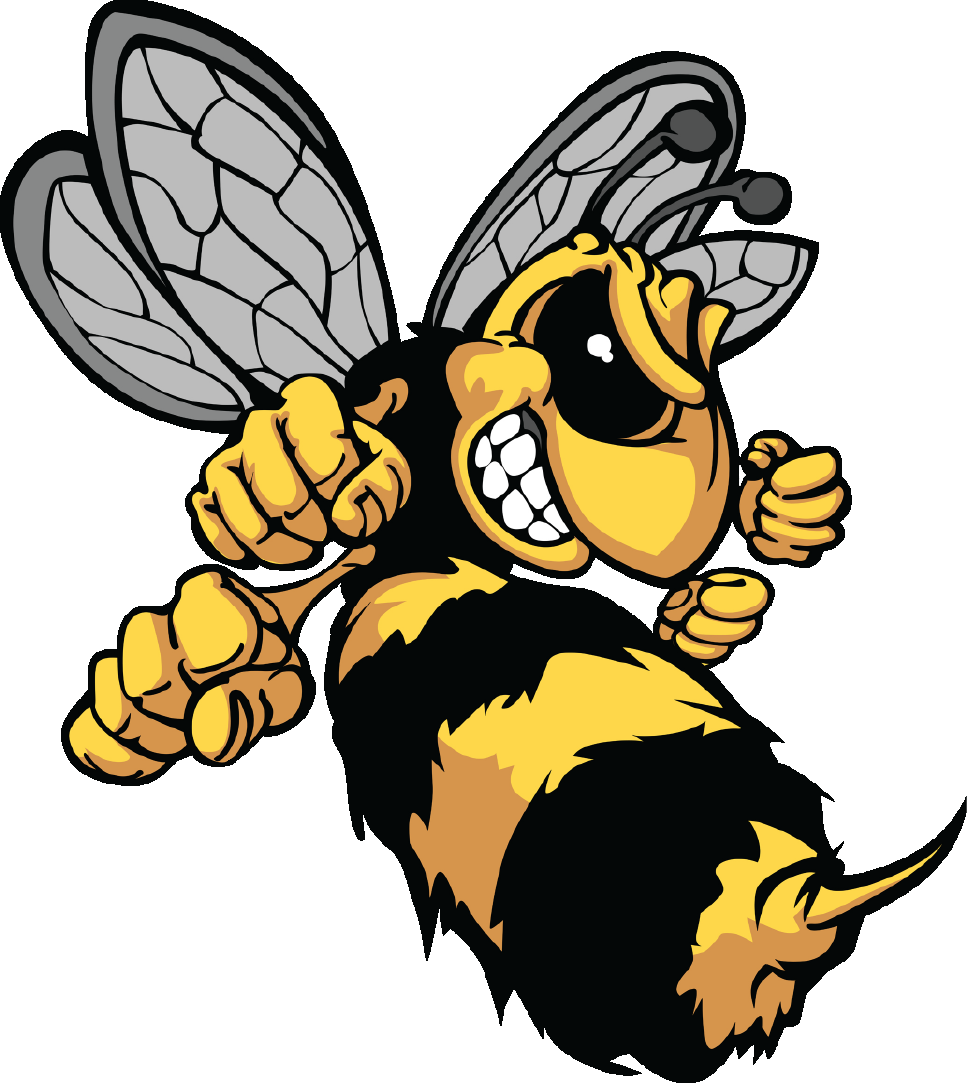 The hive site logo. Hornet clipart angry hornet