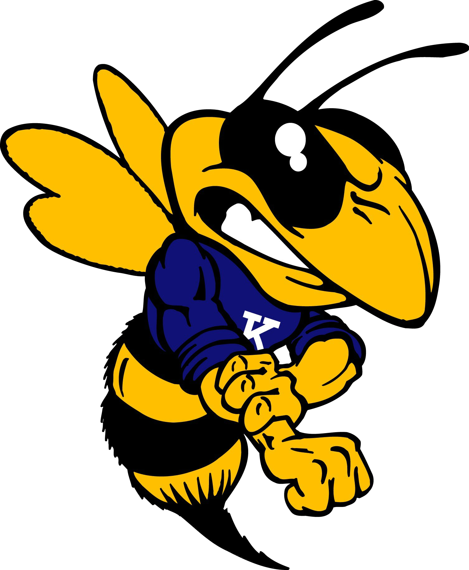 Insect clipart hornet. Kirtland football moms shop