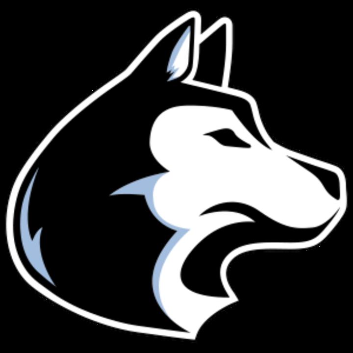 Texas high school softball. Husky clipart mascot