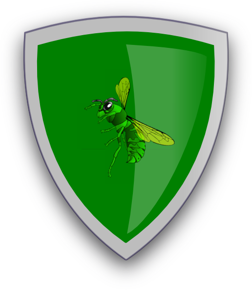 Hornet clipart green hornet. Magic sheild clip art