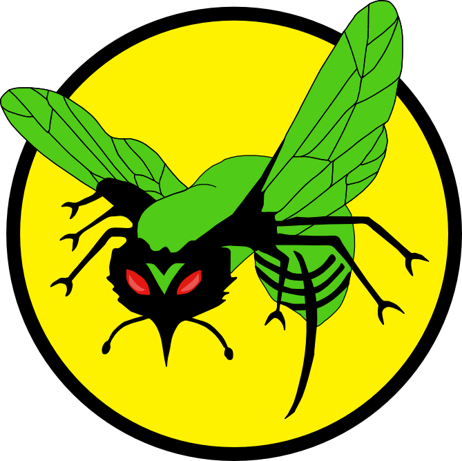 Image logo by chucky. Hornet clipart green hornet