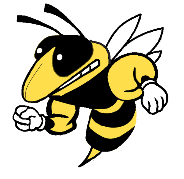 The gentry rams defeat. Hornet clipart greenville