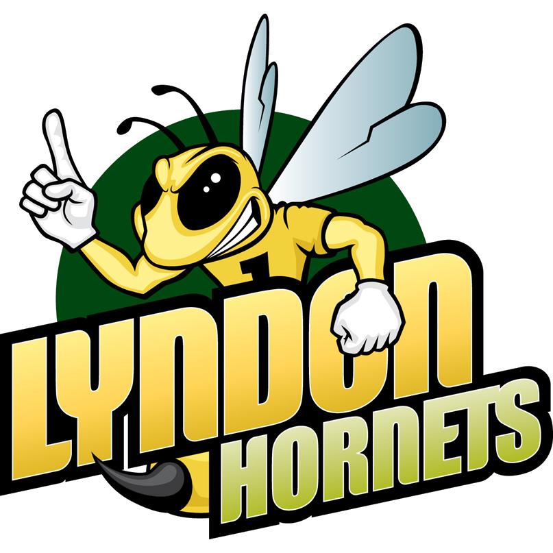 Lyndon state baseball scores. Hornet clipart greenville