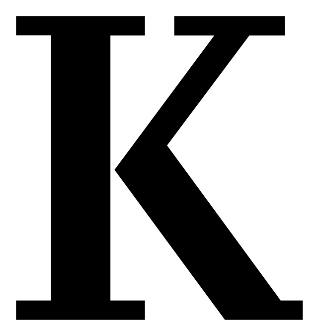 Brandk k logo. Hornet clipart kalamazoo college