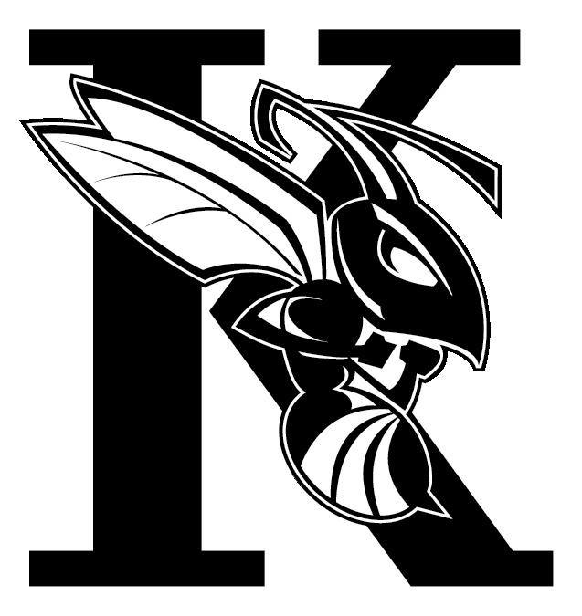 Hornet clipart kalamazoo college. Brandk k logo png