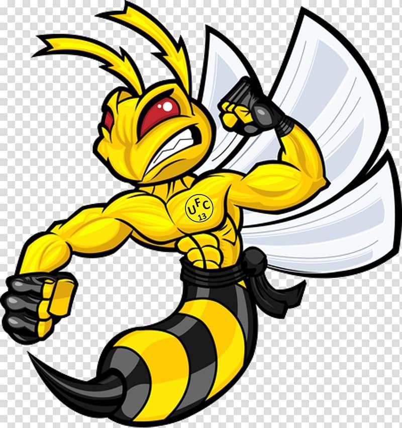 Hornet clipart logo. Drawing cartoon transparent background