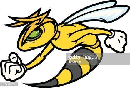 Premium clipartlogo com . Hornet clipart mad